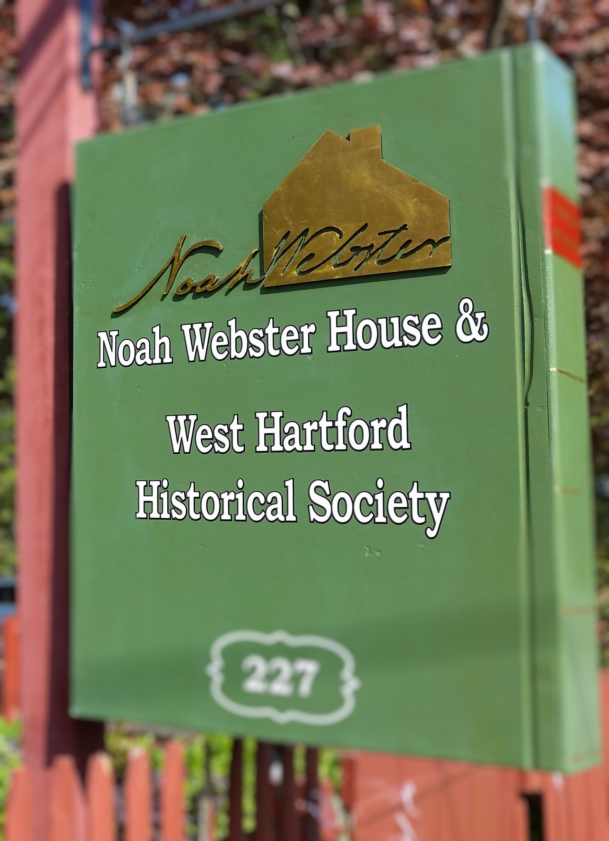 Noah Webster House and West Hartford Historical Society